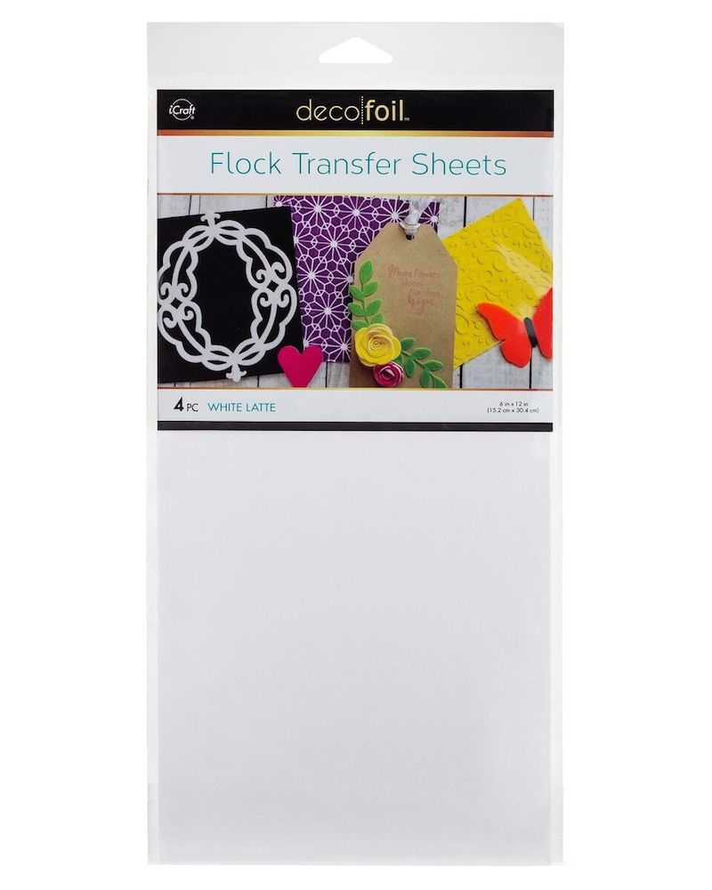 Therm O Web WHITE LATTE Flock Transfer Sheets Deco Foil 5540 zoom image