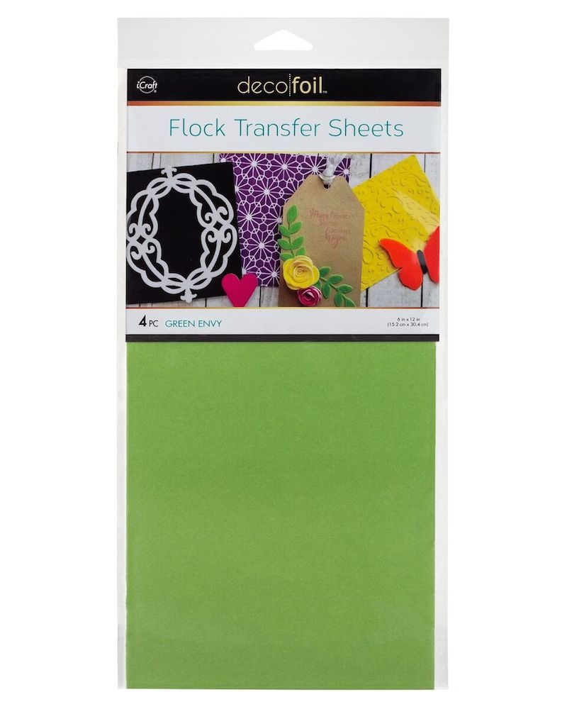 Therm O Web GREEN ENVY Flock Transfer Sheets Deco Foil 5536 zoom image