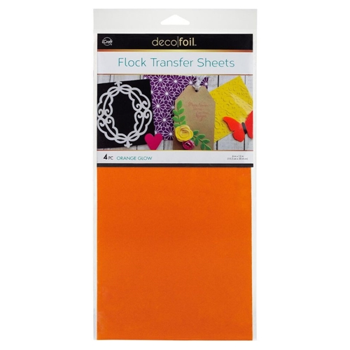 Therm O Web ORANGE GLOW Flock Transfer Sheets Deco Foil 5534 Preview Image