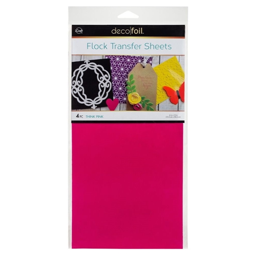 Therm O Web THINK PINK Flock Transfer Sheets Deco Foil 5533 Preview Image