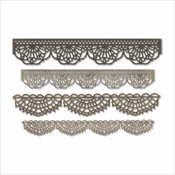Tim Holtz Sizzix CROCHET Thinlits Dies 664178