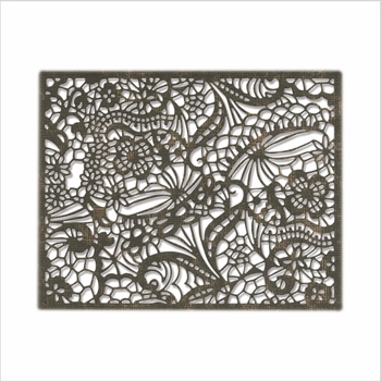 Tim Holtz Sizzix INTRICATE LACE Thinlits Dies 664181