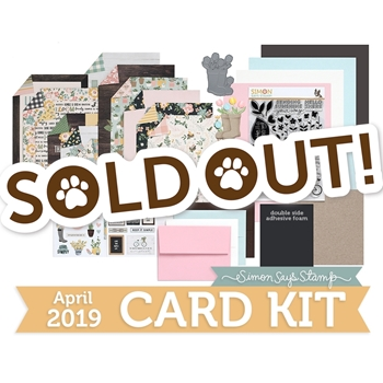 Simon Says Stamp Card Kit of The Month APRIL 2019 HELLO DARLING ck0319