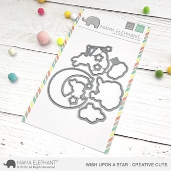 Mama Elephant WISH UPON A STAR Creative Cuts Steel Die