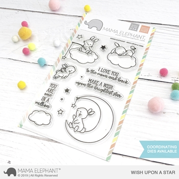 Mama Elephant Clear Stamps WISH UPON A STAR
