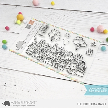 Mama Elephant Clear Stamps THE BIRTHDAY BASH