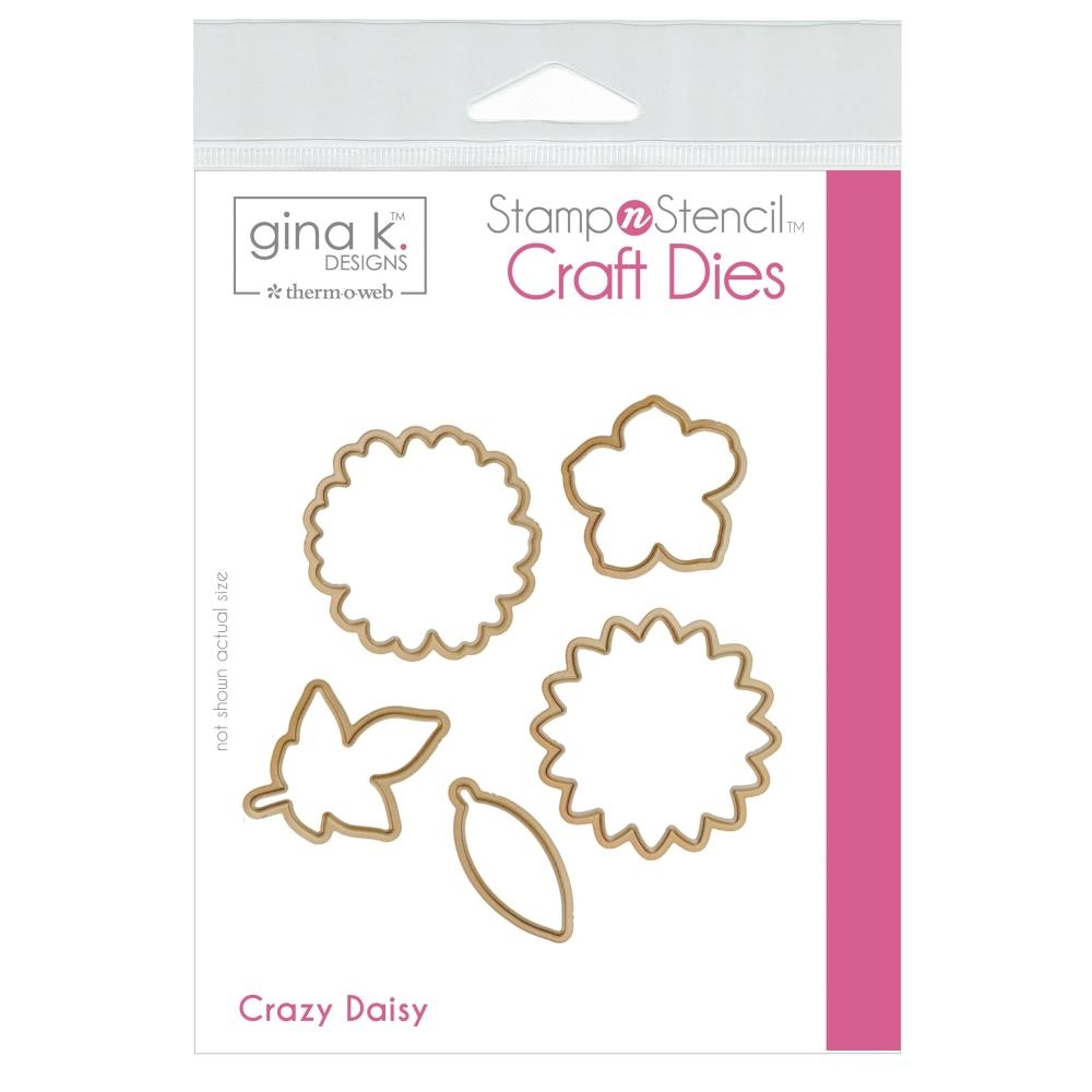 Therm O Web Gina K Designs CRAZY DAISY Craft Dies 18130 zoom image