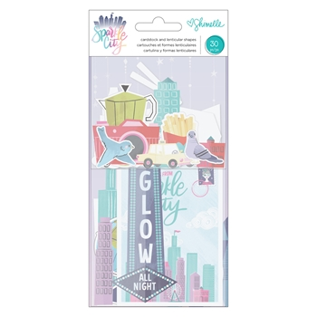 American Crafts Shimelle EPHEMERA Sparkle City 351333