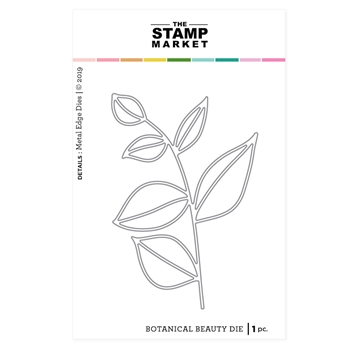 The Stamp Market BOTANICAL BEAUTY Die Set tsm2083