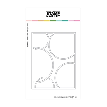 The Stamp Market CIRCLE CARD COVER Die Set tsm2081