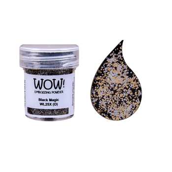 Wow Embossing Powder BLACK MAGIC WL25X