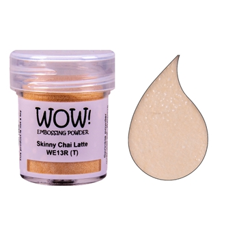 Wow Embossing Powder SKINNY CHAI LATTE WE13R