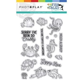 PhotoPlay FISH TALES ELEMENTS Clear Stamps fts9311