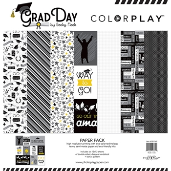 PhotoPlay GRAD DAY 12 x 12 Collection Pack ColorPlay grd9369