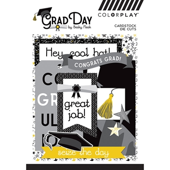PhotoPlay GRAD DAY Ephemera ColorPlay grd9370