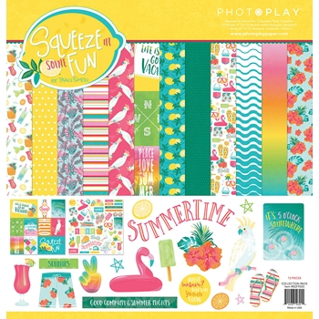 PhotoPlay SQUEEZE IN SOME FUN 12 x 12 Collection Pack sqf9325
