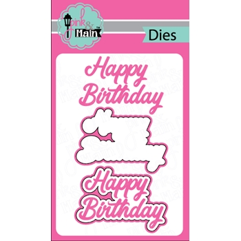 Pink and Main HAPPY BIRTHDAY Dies PNM200