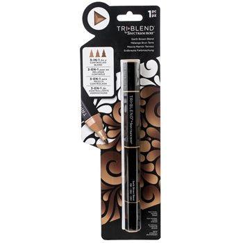 Crafter's Companion EARTH BROWN BLEND Spectrum Noir TriBlend Marker sn-tble-ebbl