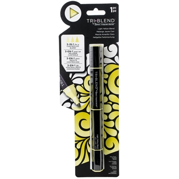 Crafter's Companion LIGHT YELLOW BLEND Spectrum Noir TriBlend Marker sn-tble-lybl