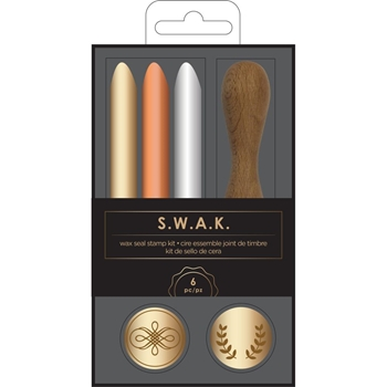 American Crafts FLOURISH Wax Seal Kit S.W.A.K. 352439