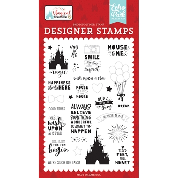 Echo Park OUR FAVORITE THING Clear Stamps mag177048