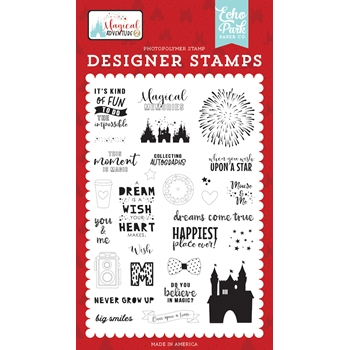 Echo Park DREAMS COME TRUE Clear Stamps mag177049