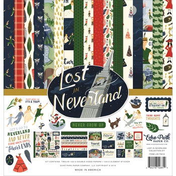 Echo Park LOST IN NEVERLAND 12 x 12 Collection Kit lin179016