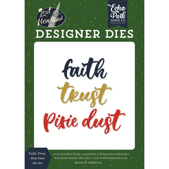 Echo Park FAITH TRUST PIXIE DUST Die Set lin179043
