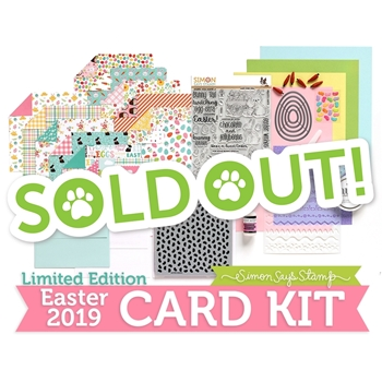 Limited Edition Simon Says Stamp Card Kit EGGSTRA SWEET EASTER 2019 ssseck19
