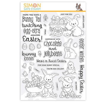 Simon Says Clear Stamps EGGSTRA SWEET EASTER sss201992