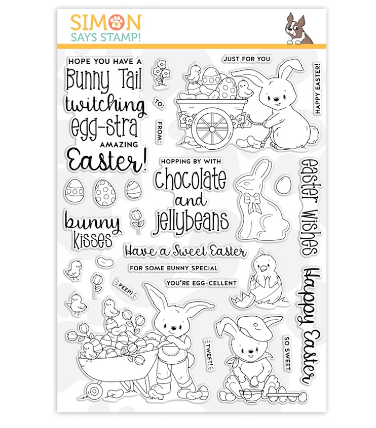Simon Says Clear Stamps EGGSTRA SWEET EASTER sss201992 zoom image