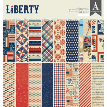 Authentique LIBERTY 12 x 12 Collection Kit lib011