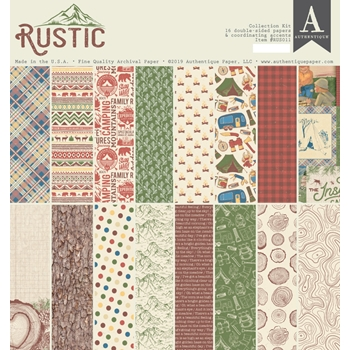 Authentique RUSTIC 12 x 12 Collection Kit rus011