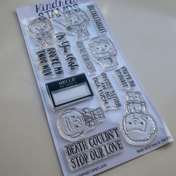 Kindred Stamps TWOO WUV Clear Stamp Set