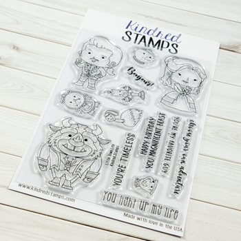 Kindred Stamps LITTLE TOWN LIFE Clear Stamps 1726492