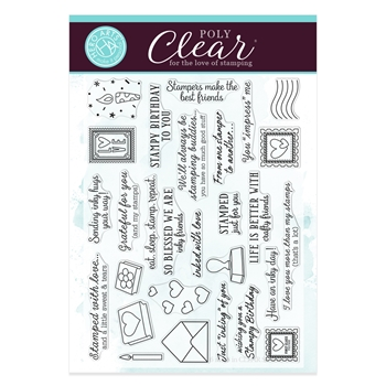 Hero Arts Clear Stamps STAMPED JUST FOR YOU CM353