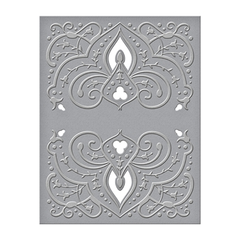 CEF-016 Spellbinders MOROCCAN VIEW Cut and Emboss Folder