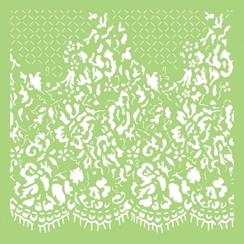 Kaisercraft LACE 6x6 Inch Designer Stencil Template IT488