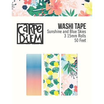 Simple Stories SUNSHINE AND BLUE SKIES Washi Tape 10628