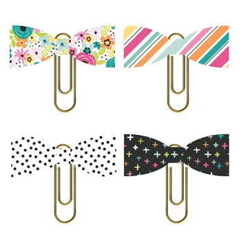 Simple Stories OH HAPPY DAY Bow Clips 10680