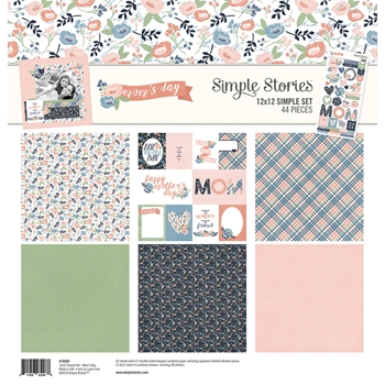 Simple Stories MOM'S DAY 12 x 12 Collection Kit 10689