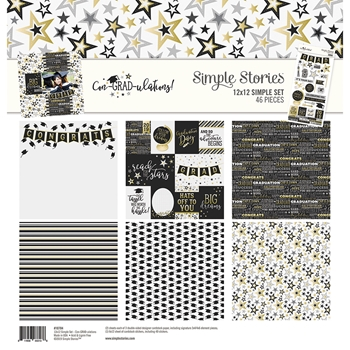 Simple Stories CON-GRAD-ULATIONS 12 x 12 Collection Kit 10704