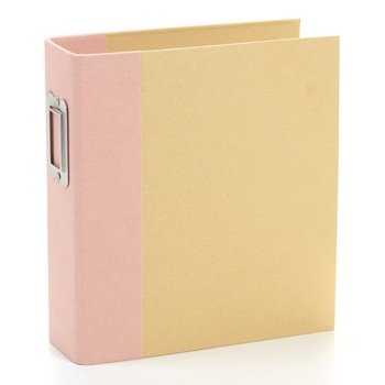 Simple Stories BLUSH 6 x 8 Snap Binder 10731