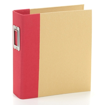 Simple Stories RED 6 x 8 Snap Binder 10733