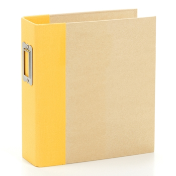 Simple Stories YELLOW 6 x 8 Snap Binder 10736