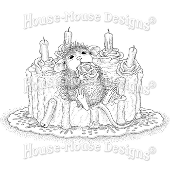 Stampendous Cling Stamp ICING ROSES hmcp109 House Mouse