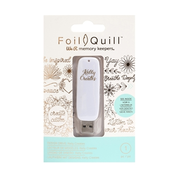 We R Memory Keepers KELLY CREATES Foil Quill Design Drive USB 660721