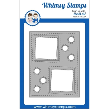 Whimsy Stamps PEEKABOO WINDOW 4 Dies WSD375