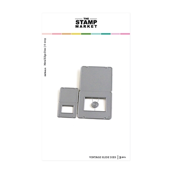 The Stamp Market VINTAGE SLIDES Die Set tsm2088