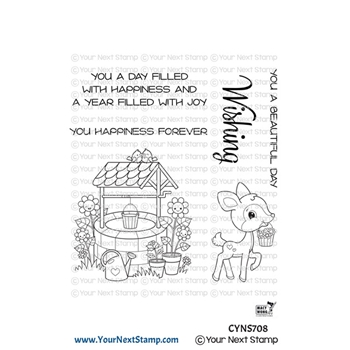 Your Next Stamp JOYFUL WISHING WELL Clear cyns708